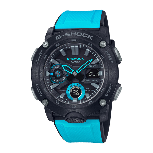 G-SHOCK ジーショック CASIO カシオ メンズ 腕時計 Carbon Core Guard Basic GA-2000-1A2JF [G-SHOCK/ジーショック/防水/カーボン]
