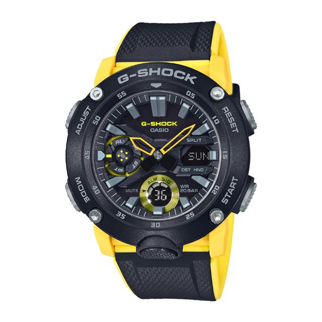 G-SHOCK ジーショック CASIO カシオ メンズ 腕時計 Carbon Core Guard Basic GA-2000-1A9JF [G-SHOCK/ジーショック/防水/カーボン]