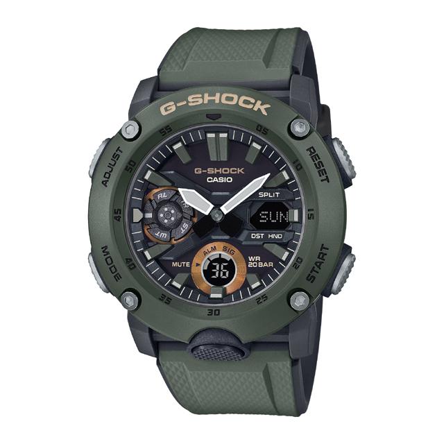 G-SHOCK ジーショック CASIO カシオ メンズ 腕時計 Carbon Core Guard Basic GA-2000-3AJF [G-SHOCK/ジーショック/腕時計/カーボンコアガード]