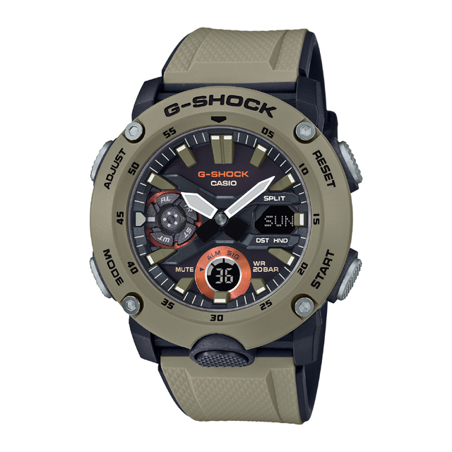 G-SHOCK ジーショック CASIO カシオ メンズ 腕時計 Carbon Core Guard Basic GA-2000-5AJF [G-SHOCK/ジーショック/腕時計/カーボンコアガード]