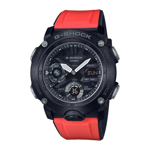 G-SHOCK ジーショック CASIO カシオ メンズ 腕時計 Carbon Core Guard Basic GA-2000E-4JR [G-SHOCK/ジーショック/防水/カーボン/限定]