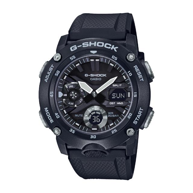 G-SHOCK ジーショック CASIO カシオ メンズ 腕時計 GA-2000 GA-2000S-1AJF [G-SHOCK/ジーショック/カーボン/防水]