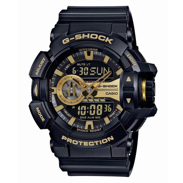 G-SHOCK ジーショック CASIO カシオ メンズ 腕時計 GA-400GB-1A9JF [ブラック/黒/国内正規販売店/Authorized Dealer]