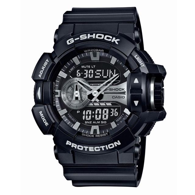 G-SHOCK ジーショック CASIO カシオ メンズ 腕時計 GA-400GB-1AJF [ブラック/黒/国内正規販売店/Authorized Dealer]