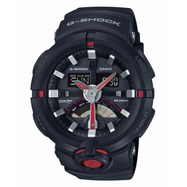G-SHOCK ジーショック メンズ 腕時計 CASIO カシオ GA-500-1A4JF [ブラック/20気圧防水/ワールドタイム/アナログ/国内正規販売店/Authorized Dealer]