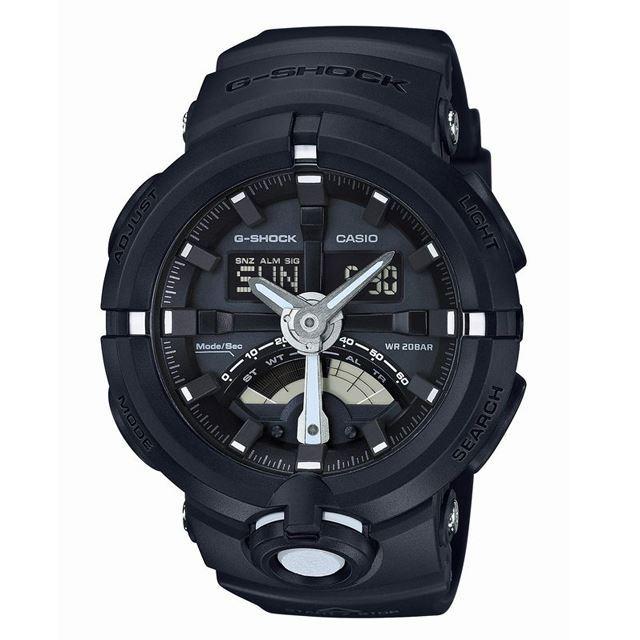 G-SHOCK ジーショック メンズ 腕時計 CASIO カシオ GA-500-1AJF [ブラック/20気圧防水/ワールドタイム/アナログ/国内正規販売店/Authorized Dealer]