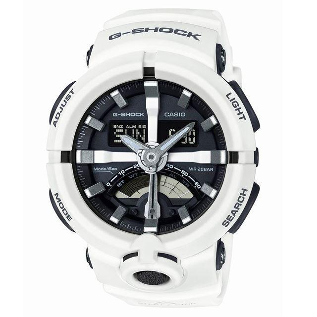 G-SHOCK ジーショック メンズ 腕時計 CASIO カシオ GA-500-7AJF [ホワイト/20気圧防水/ワールドタイム/アナログ/国内正規販売店/Authorized Dealer]