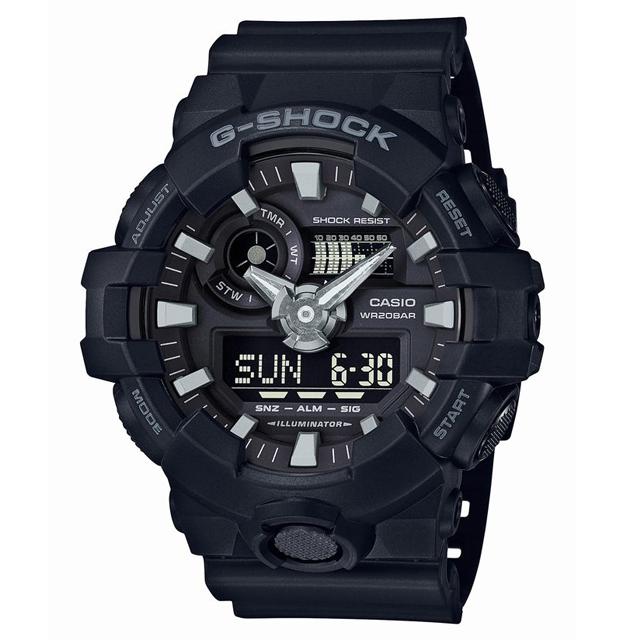 G-SHOCK ジーショック CASIO カシオ メンズ 腕時計 GA-700-1BJF [20気圧防水/ワールドタイム/国内正規販売店/Authorized Dealer]