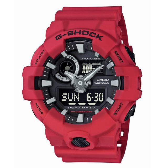 G-SHOCK ジーショック CASIO カシオ メンズ 腕時計 GA-700-4AJF [20気圧防水/ワールドタイム/国内正規販売店/Authorized Dealer]