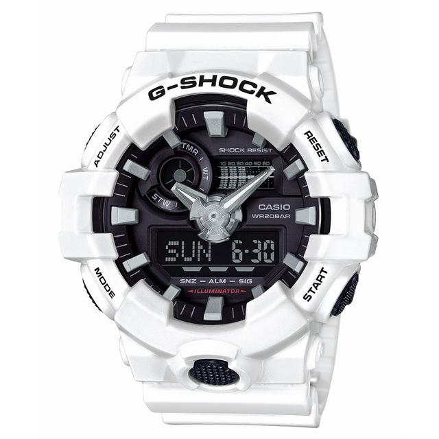 G-SHOCK ジーショック CASIO カシオ メンズ 腕時計 GA-700-7AJF [20気圧防水/アナログ/ストリート]