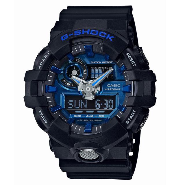 G-SHOCK ジーショック CASIO カシオ メンズ 腕時計 GA-710-1A2JF [20気圧防水/アナログ/ストリート]