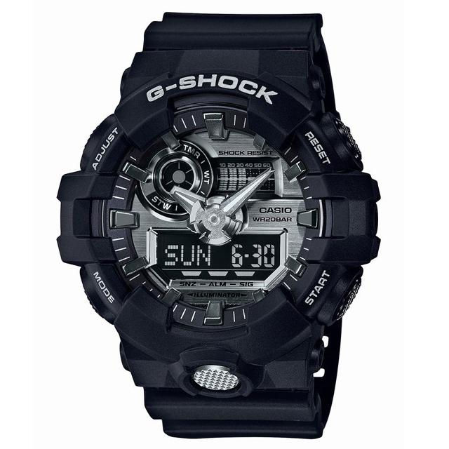 G-SHOCK ジーショック CASIO カシオ メンズ 腕時計 GA-710-1AJF [20気圧防水/アナログ/ストリート]
