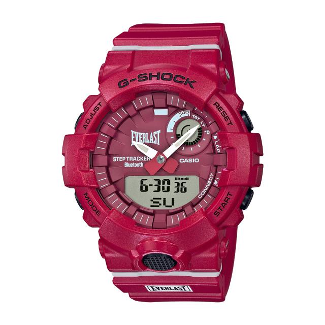 G-SHOCK ジーショック CASIO カシオ メンズ 腕時計 G-SQUAD EVERLAST GBA-800EL-4AJR [G-SHOCK/ジーショック/EVERLAST/G-SQUAD]
