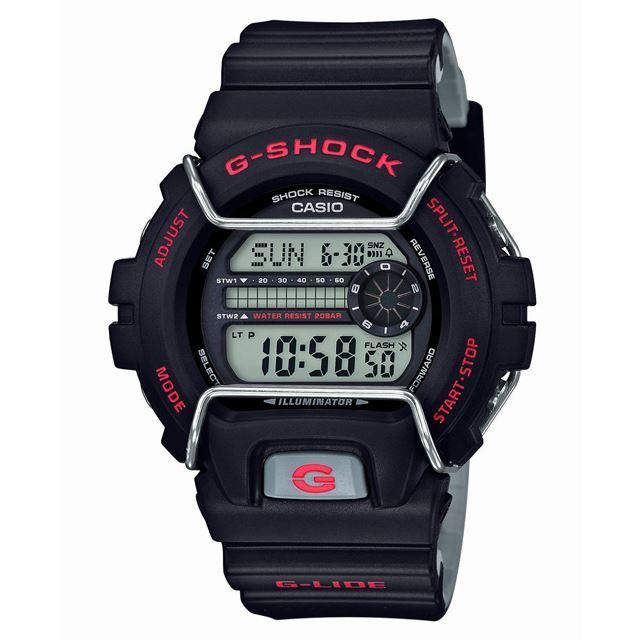G-SHOCK ジーショック CASIO カシオ メンズ 腕時計 G-LIDE Gライド GLS-6900-1JF [20気圧防水/耐衝撃構造/耐低温仕様/ウィンタースポーツ/スノーボード/雪/デジタル/国内正規販売店/Authorized Dealer]