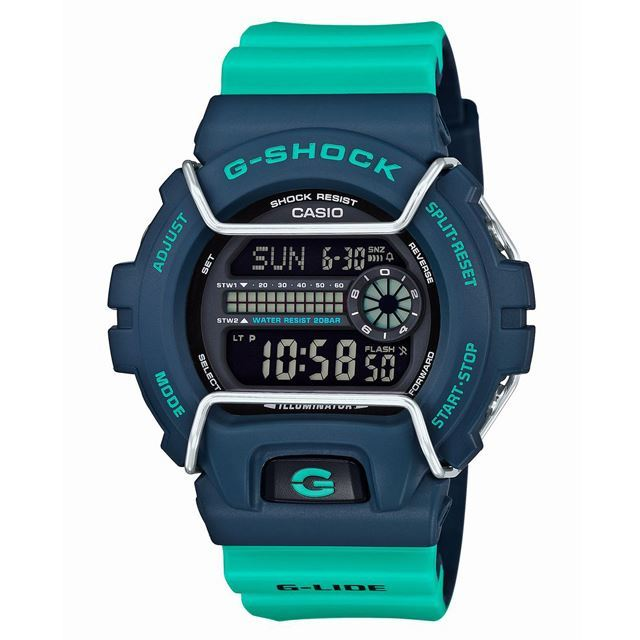 G-SHOCK ジーショック CASIO カシオ メンズ 腕時計 G-LIDE Gライド GLS-6900-2AJF [20気圧防水/耐衝撃構造/耐低温仕様/ウィンタースポーツ/スノーボード/雪/デジタル/国内正規販売店/Authorized Dealer]
