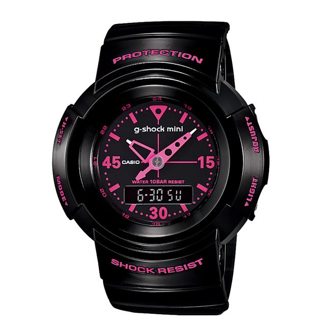 【送料無料】ジーショックミニ Gショックミニ g-shock mini CASIO カシオ レディース 腕時計 防水 ブランド ブラック 黒 GMN-500-1B2JR