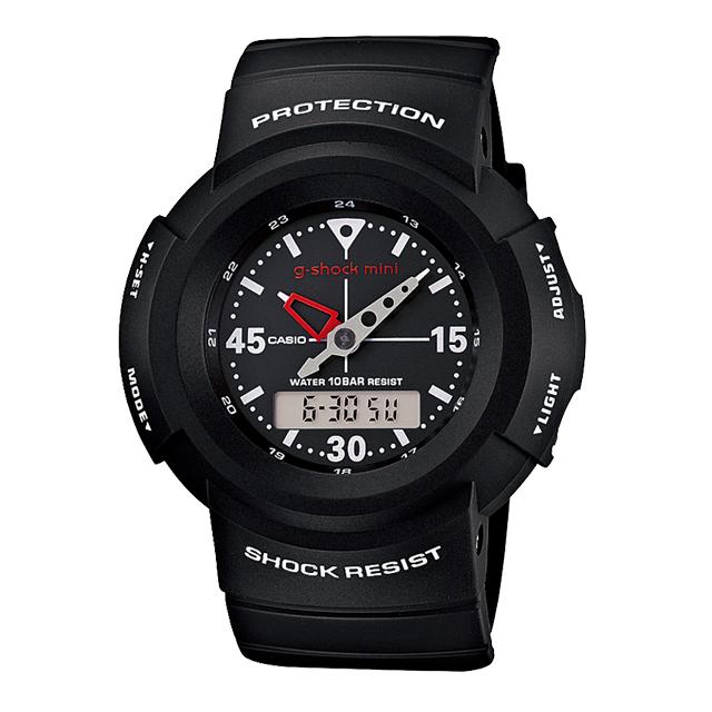 【送料無料】ジーショックミニ Gショックミニ g-shock mini CASIO カシオ レディース 腕時計 防水 ブランド ブラック 黒 GMN-500-1BJR