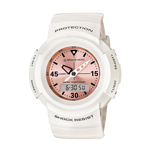 【送料無料】ジーショックミニ Gショックミニ g-shock mini CASIO カシオ レディース 腕時計 防水 ブランド ホワイト 白 GMN-500-7B2JR