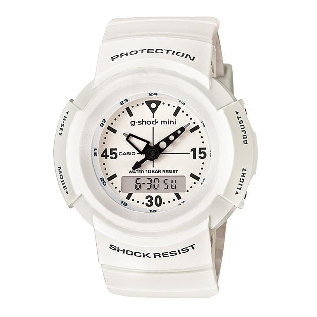 【送料無料】ジーショックミニ Gショックミニ g-shock mini CASIO カシオ レディース 腕時計 防水 ブランド ホワイト 白 GMN-500-7BJR