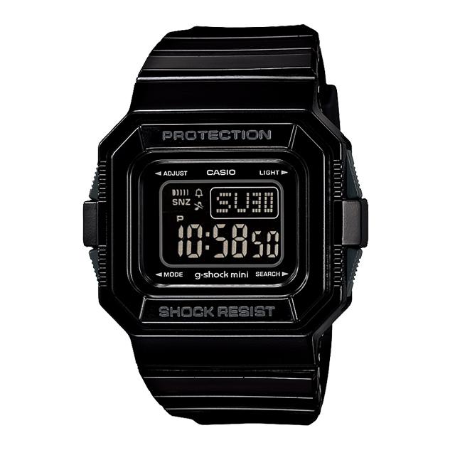 ジーショックミニ Gショックミニ g-shock mini CASIO カシオ レディース 腕時計 防水 ブランド ブラック 黒 GMN-550-1DJR
