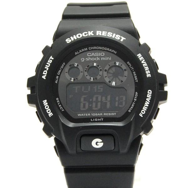 ジーショックミニ Gショックミニ g-shock mini CASIO カシオ レディース 腕時計 防水 ブランド ブラック 黒 GMN-691-1AJF