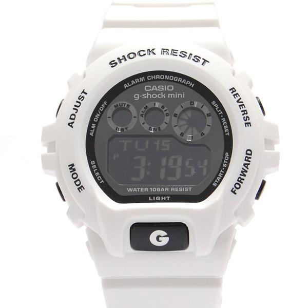 ジーショックミニ Gショックミニ g-shock mini CASIO カシオ レディース 腕時計 防水 ブランド ホワイト 白 GMN-691-7AJF