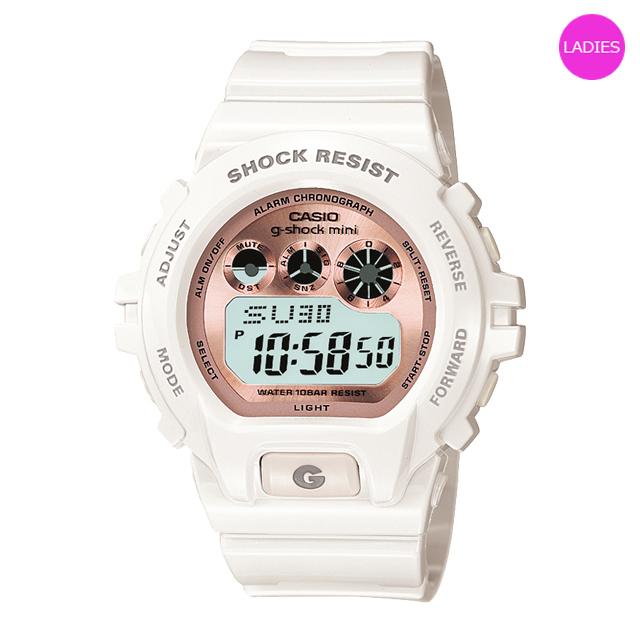 ジーショックミニ Gショックミニ g-shock mini CASIO カシオ レディース 腕時計 防水 ブランド ホワイト 白 GMN-691-7BJF