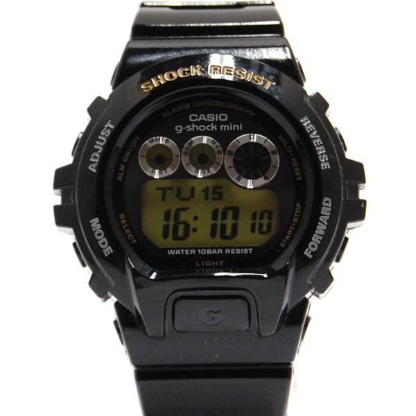 ジーショックミニ Gショックミニ g-shock mini CASIO カシオ レディース 腕時計 防水 ブランド ブラック ゴールド 黒 GMN-691G-1JR