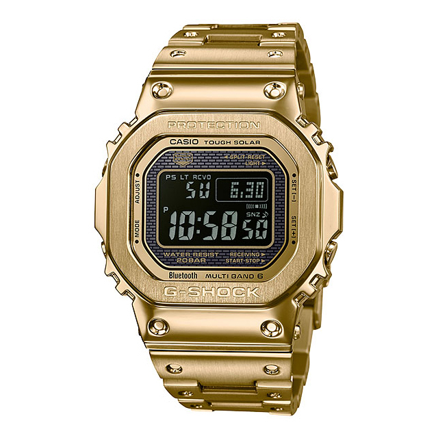 G-SHOCK ジーショック CASIO カシオ メンズ 腕時計 GMW-B5000 GMW-B5000GD-9JF [G-SHOCK/ジーショック/防水/bluetooth/フルメタル/スクリューバック]