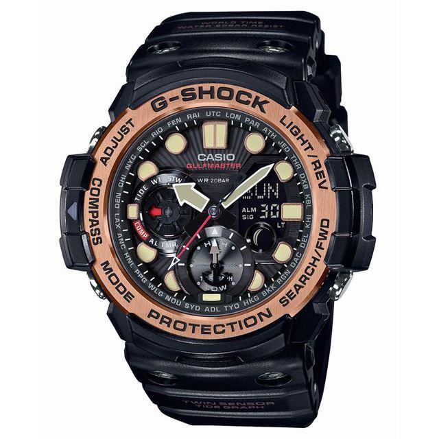 G-SHOCK ジーショック CASIO カシオ メンズ 腕時計 MASTER OF G マスターオブG GN-1000RG-1AJF [20気圧防水/タイドグラフ/ムーンデータ/ツインセンサー/アナログ/国内正規販売店/Authorized Dealer]