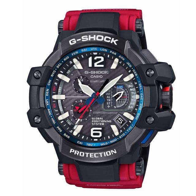 G-SHOCK ジーショック CASIO カシオ メンズ 腕時計 MASTER OF G マスターオブG RESCUE RED レスキューレッド GPW-1000RD-4AJF [レッド/赤/国内正規販売店/Authorized Dealer]