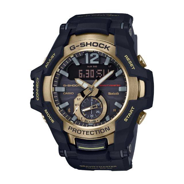 G-SHOCK ジーショック CASIO カシオ メンズ 腕時計 Black & Gold Series GR-B100GB-1AJF [G-SHOCK/ジーショック/防水/bluetooth]