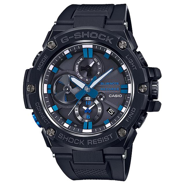 G-SHOCK ジーショック CASIO カシオ メンズ 腕時計 BLUE NOTE RECORDS GST-B100BNR-1AJR [G-SHOCK/ジーショック/防水/ブルーノート/ソーラー]