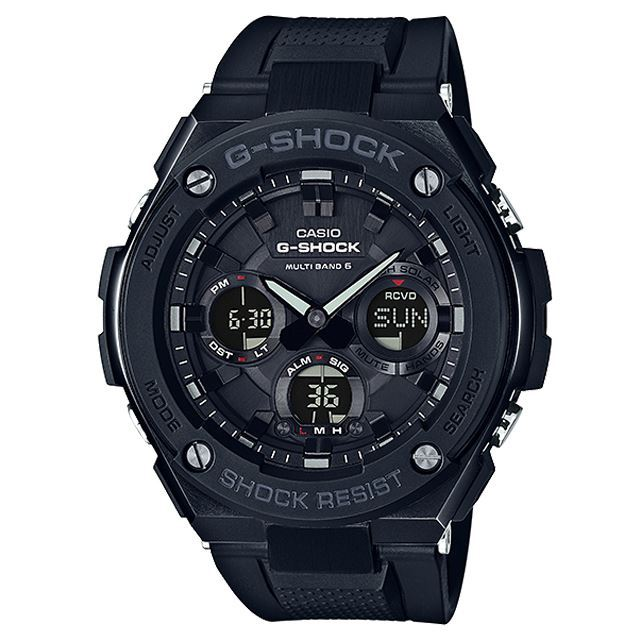 G-SHOCK ジーショック CASIO カシオ メンズ 腕時計 G-STEEL Gスチール GST-W100G-1BJF [ブラック/黒/国内正規販売店/Authorized Dealer]
