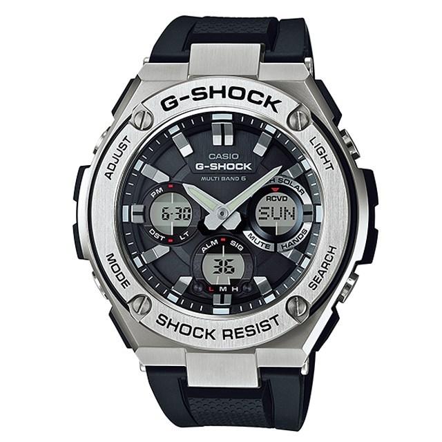 G-SHOCK ジーショック CASIO カシオ メンズ 腕時計 G-STEEL Gスチール GST-W110-1AJF [国内正規販売店]