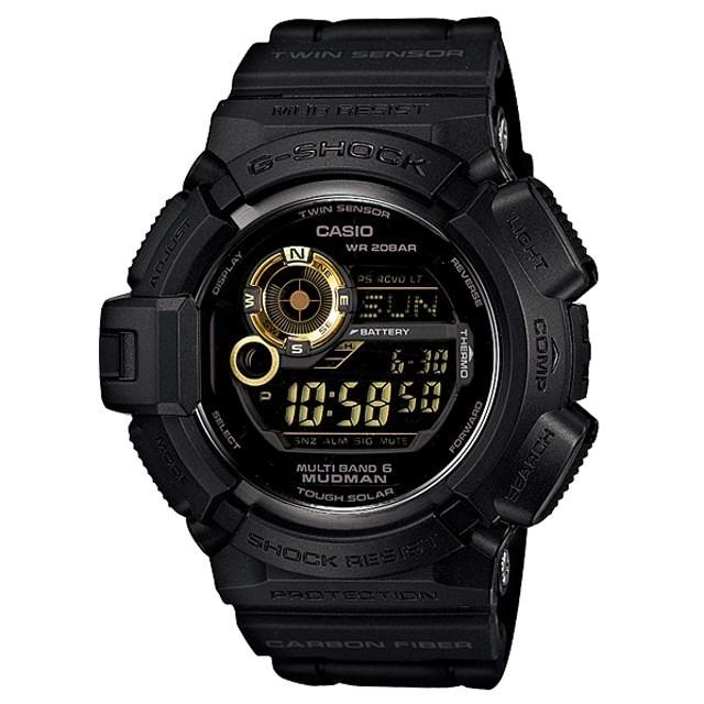 G-SHOCK ジーショック CASIO カシオ メンズ 腕時計 Black×Gold Series GW-9300GB-1JF [国内正規販売店]