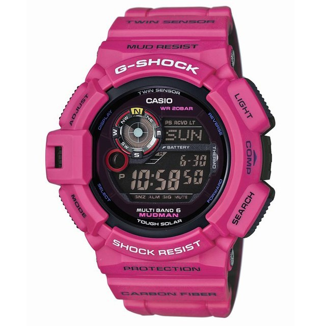 G-SHOCK ジーショック CASIO カシオ メンズ 腕時計 MUDMAN MEN IN SUNRISE PURPLE メン・イン・サンライズパープル GW-9300SR-4JF 国内正規販売店