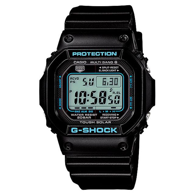 G-SHOCK ジーショック CASIO カシオ メンズ 腕時計 ブラック×ブルー シリーズ GW-M5610BA-1JF [G-SHOCK/ジーショック/防水/電波ソーラー]