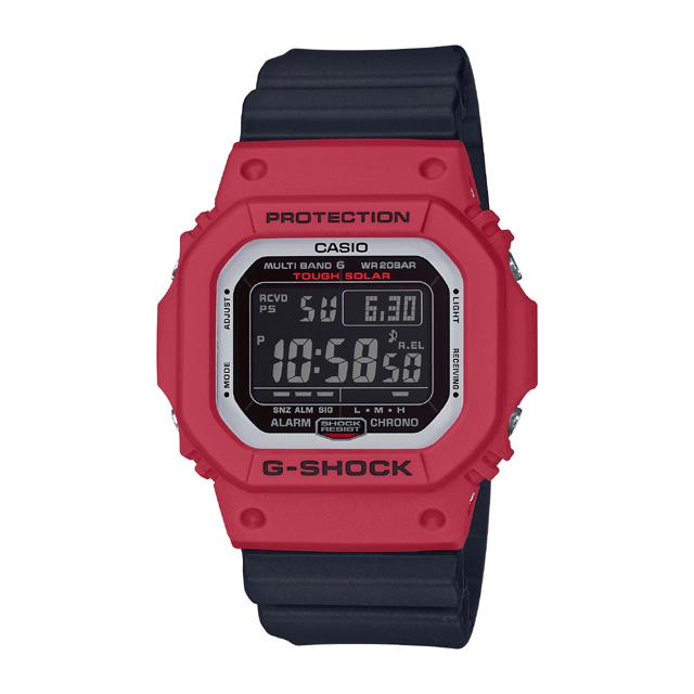 G-SHOCK ジーショック CASIO カシオ メンズ 腕時計 Red & Black GW-M5610RB-4JF [G-SHOCK/ジーショック/腕時計/電波ソーラー/防水]