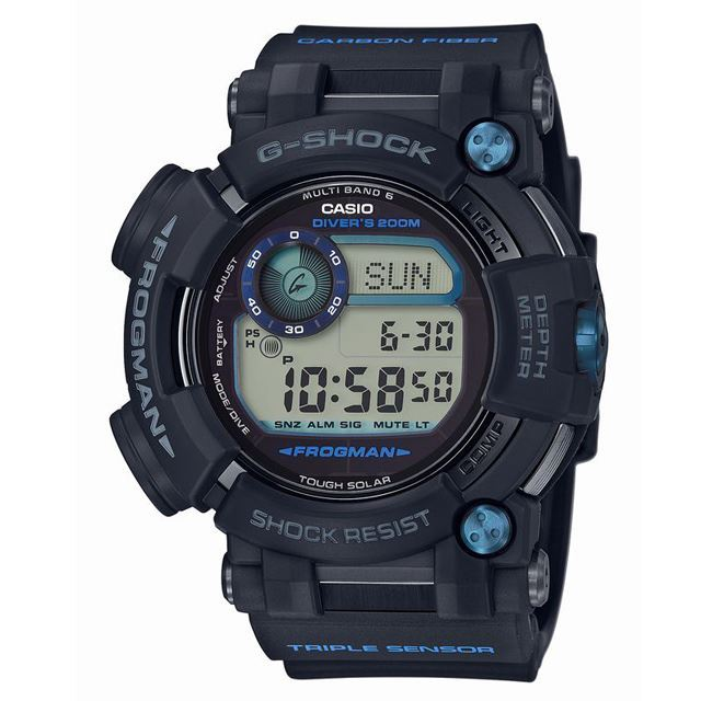G-SHOCK ジーショック CASIO カシオ メンズ 腕時計 FROGMAN フロッグマン GWF-D1000B-1JF [ダイビング/ブラック/国内正規販売店/Authorized Dealer]