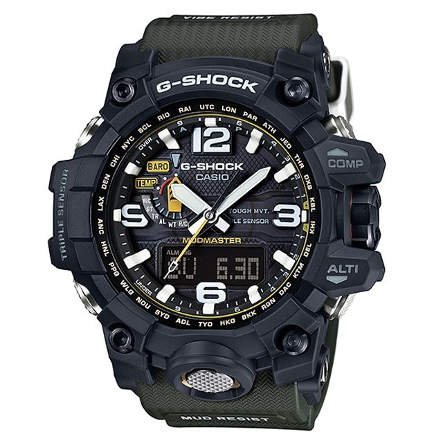 G-SHOCK ジーショック CASIO カシオ メンズ 腕時計 MUDMASTER マッドマスター GWG-1000-1A3JF [国内正規販売店]