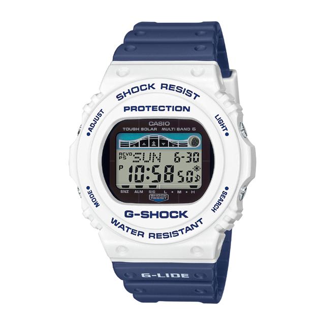 G-SHOCK ジーショック CASIO カシオ メンズ 腕時計 G-LIDE Shark Safe Pattern  GWX-5700SS-7JF [G-SHOCK/ジーショック/腕時計/サーフィン/ソーラー電波]