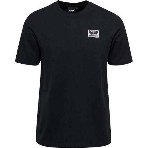ヒュンメル ハイブ フェリエ ショーツスリーブ Tシャツ HUMMEL HIVE FERIE T-SHIRT S/S BLACK メンズ Tシャツ HM207003-2001