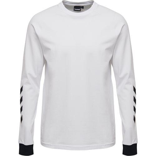 ヒュンメル ハイブ クローブ ロングスリーブ Tシャツ HUMMEL HIVE KROVEJ T-SHIRT L/S WHITE メンズ Tシャツ HM207022-9001