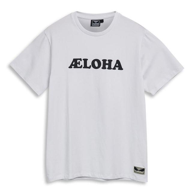 ヒュンメル ハイブ ウエストコート ショーツスリーブ Tシャツ HUMMEL HIVE WEST COAST T-SHIRT S/S WHITE メンズ Tシャツ HM208035-9001