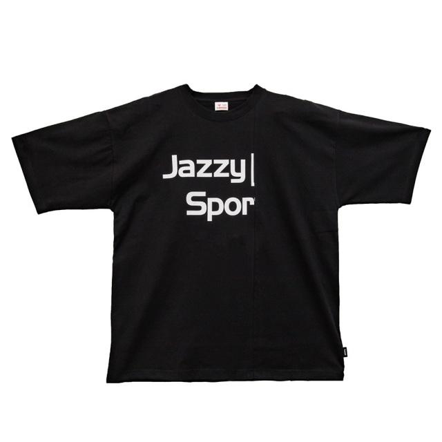 ヒュンメル × ジャジースポート ロゴビックTS Tシャツ hummel × JAZZY LOGO BIG T-Shirts BLACK メンズ Tシャツ コラボレーション HST20020JSS-SN90