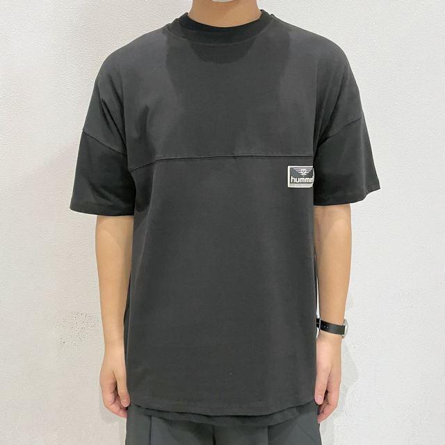 【SALE】 ヒュンメル ハイブ  ビーチ ブレイク Tシャツ HUMMEL HIVE HML BEACH BREAK T-SHIRT BLACK メンズ Tシャツ HM208281-2001