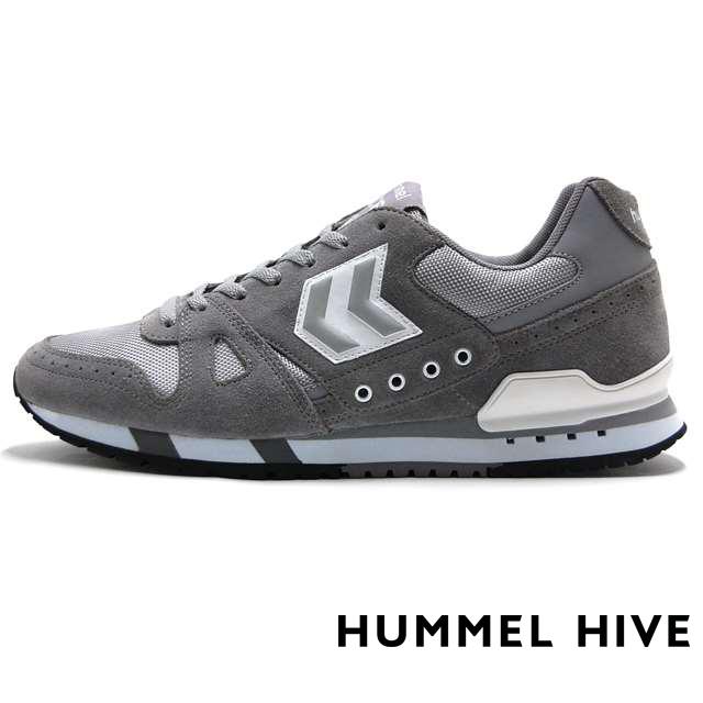 ヒュンメル ハイブ HUMMEL HIVE メンズ スニーカー MARATHONA GBW ALLOY グレー HM65074-1100