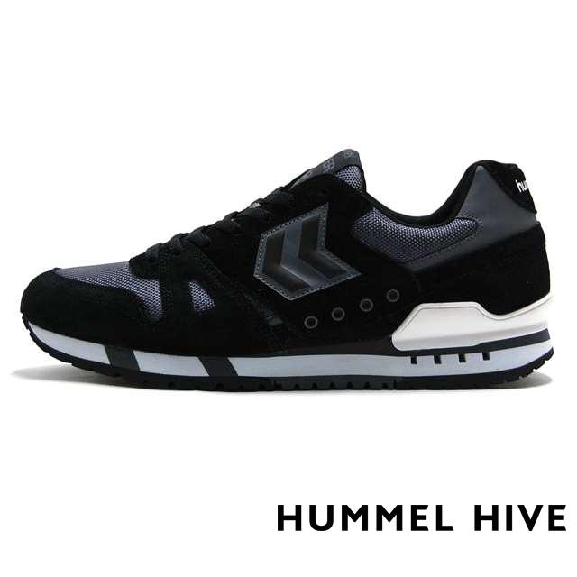 ヒュンメル ハイブ HUMMEL HIVE メンズ スニーカー MARATHONA GBW BLACK ブラック HM65074-2001
