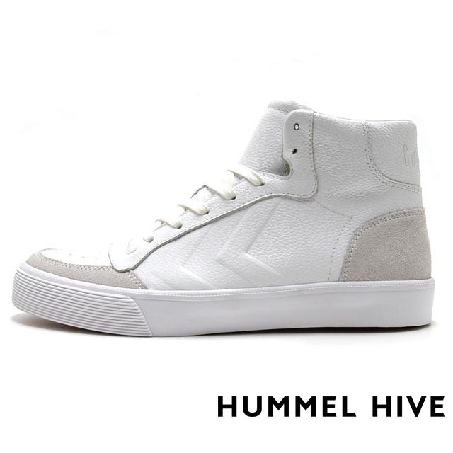 HUMMEL HIVE ヒュンメルハイブ メンズ レディース スニーカー STADIL RMX HIGH スタディール RMX ハイ WHITE HM64232-9001 [限定モデル/LIMITED/リミテッドモデル/国内正規販売店/Authorized Dealer]